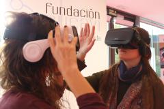 TrasTEA 2018: stand VR de Fundación AUCAVI