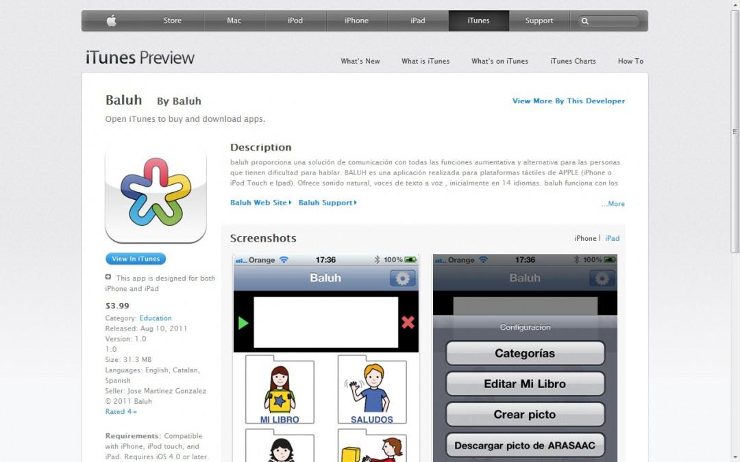 Baluh,  pictogramas para móviles Apple