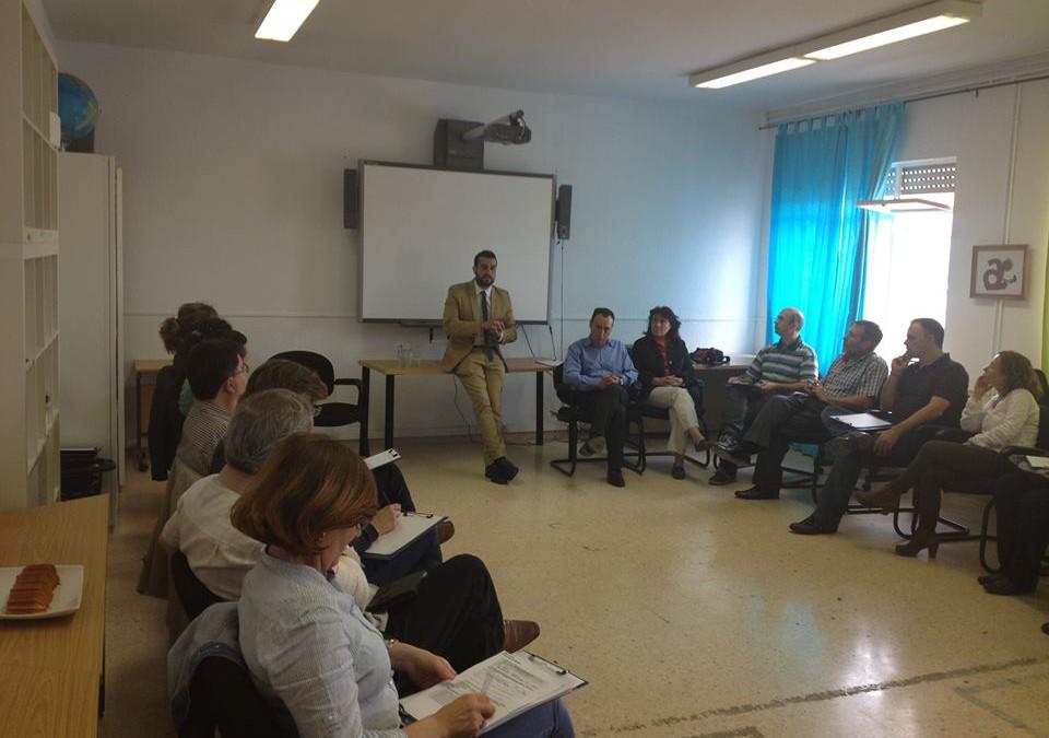 Reunión sobre Dependencia en la Fundación Aucavi