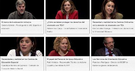 Todos los vídeos de las IV Jornada Autismo Madrid Sur- 2/3 parte