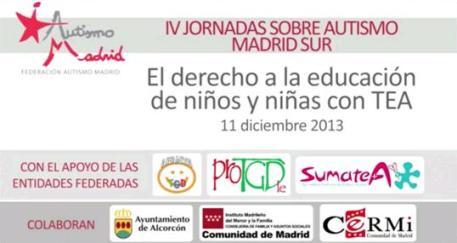 Todos los vídeos de las IV Jornada Autismo Madrid Sur- 1/3 parte