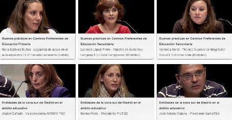 Todos los vídeos de las IV Jornada Autismo Madrid Sur- 3/3 parte
