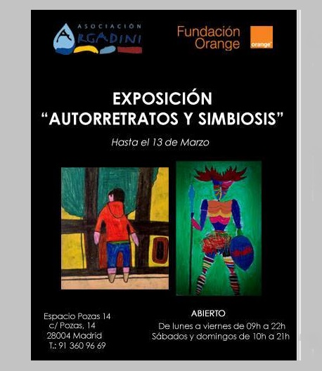 Exposición de autorretratos de la Asociación Argadini