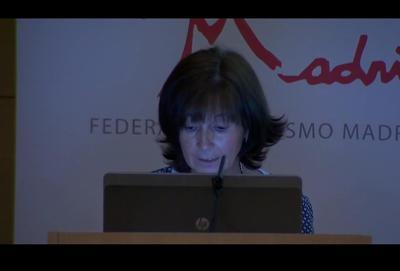Carmen Muela en la V Jornada Autismo y Sanidad – Actuación de la Comisión Sanidad de Austimo Madrid