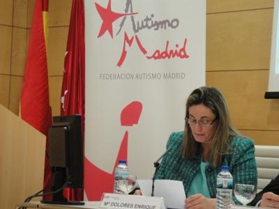 La Presidenta de Autismo Madrid, Mª Dolores Enrique, clausura la V Jornada Autismo y Sanidad
