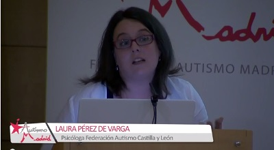 Laura Pérez de la Varga en la V Jornada Autismo y Sanidad – El estrés ante el autismo en las familias