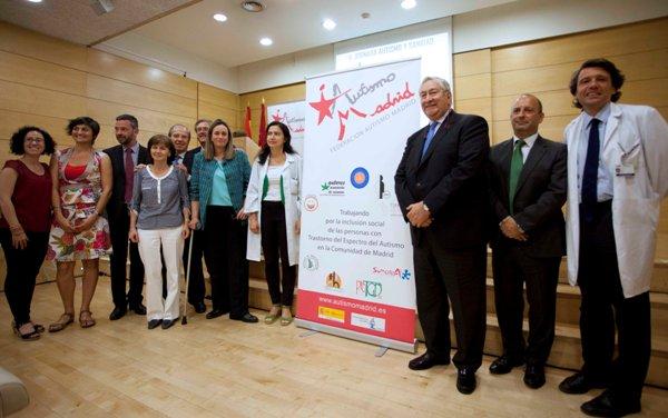 Clausura de la V Jornada Autismo y Sanidad 2014