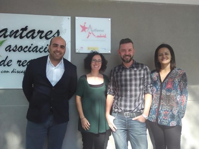 Reunión entre la Federación Autismo Madrid y Specialisterne
