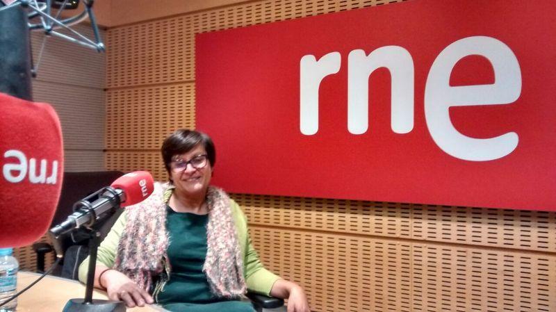 Carmen Molina, en Radio Nacional de España