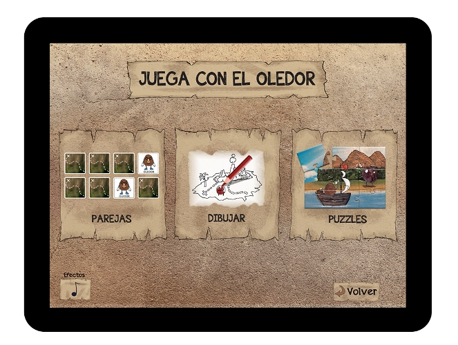 Juegos de El Oledor para el iPad