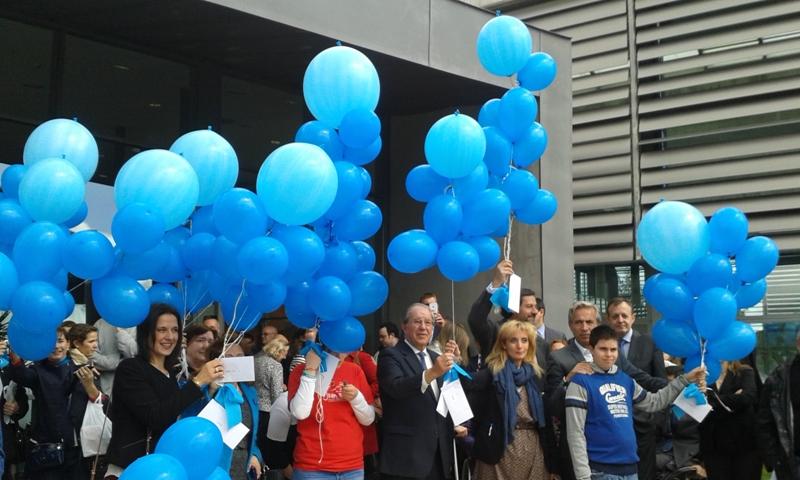 Multitudinaria celebración para concienciar a la sociedad sobre el Autismo