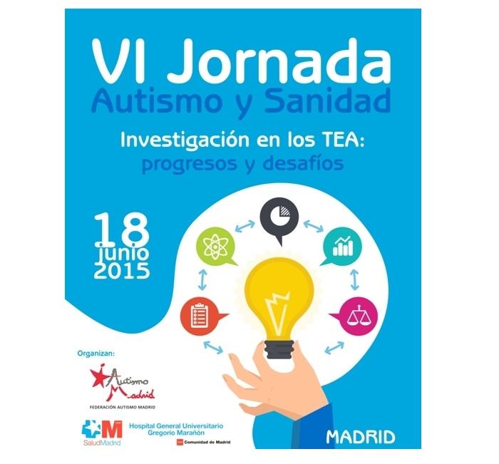 Destacados expertos en autismo participarán en la VI Jornada Autismo y Sanidad 2015