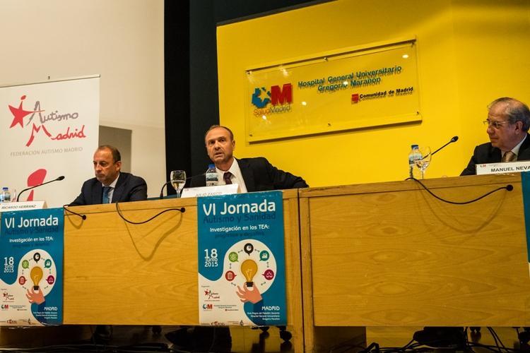 Inauguración de la VI Jornada Autismo y Sanidad