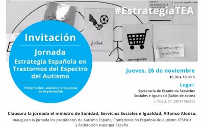 Jornada sobre la Estrategia Española en Trastornos del Espectro del Autismo