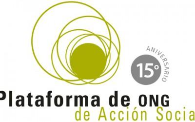 """La Plataforma de ONG de Acción Social presenta el """"Estudio del Tercer Sector de Acción Social en España"""""""