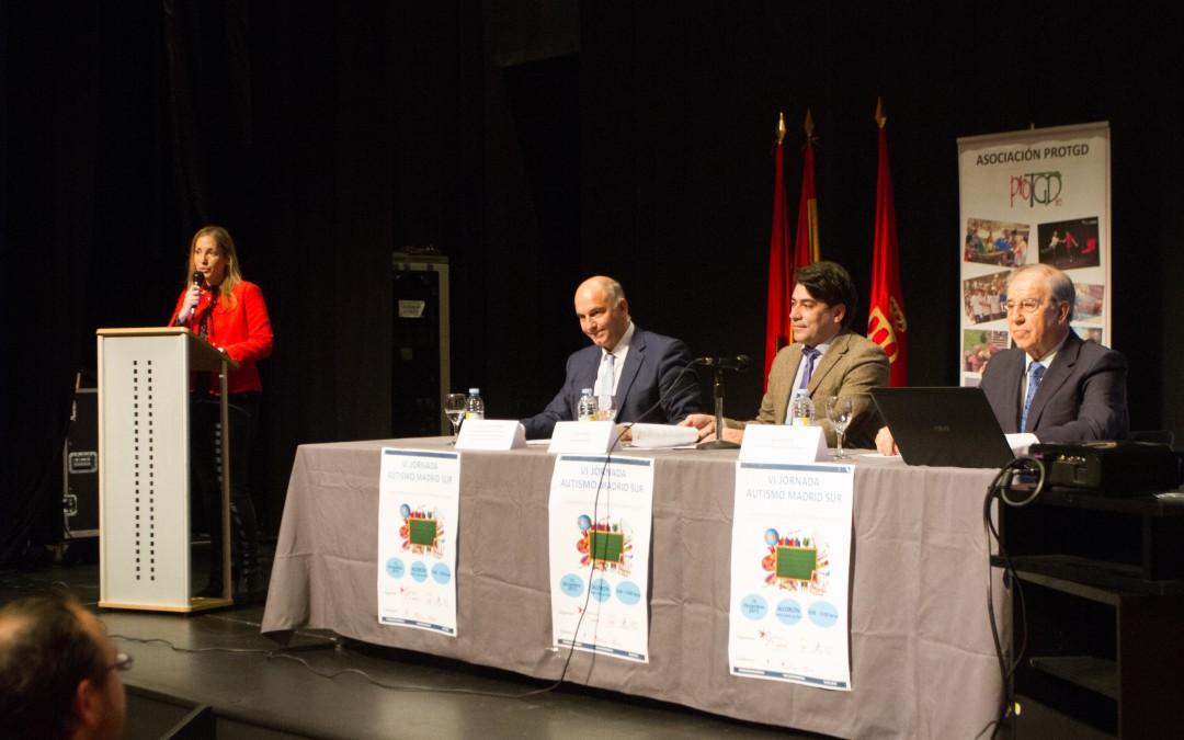Inauguración de la VI Jornada Autismo Madrid Sur