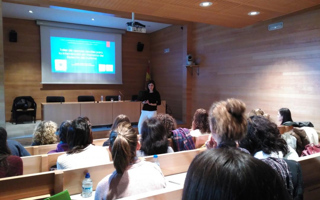 Celebrado el primer taller presencial del Curso de Especialización en Intervención en personas con TEA