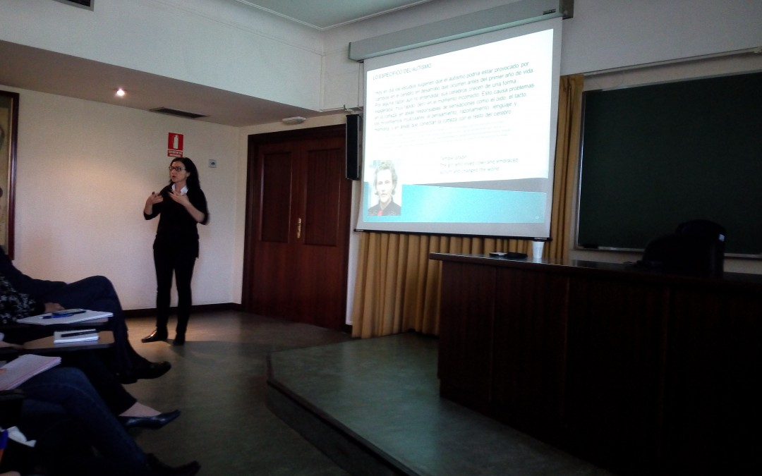 La Federación Autismo Madrid participa en una jornada por el Día del ADN