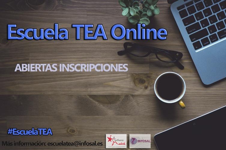 En 2017 … ¡vuelve la Escuela TEA Online! – El 17 Enero, nuevo curso