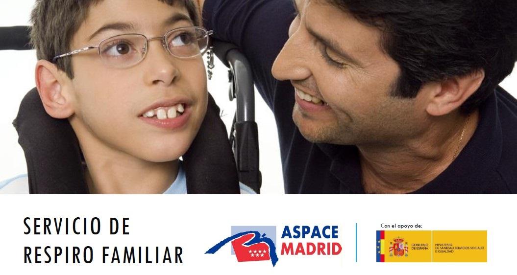 Aspace Madrid ofrece un nuevo Servicio de Respiro Familiar