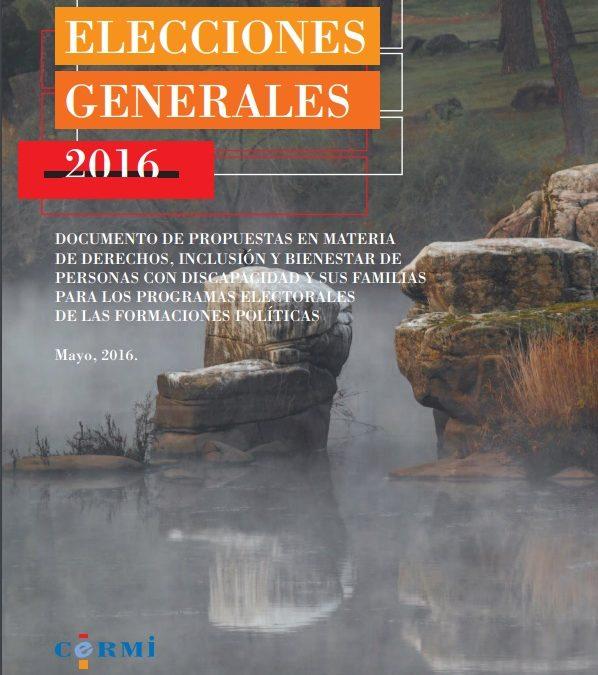 De cara a las Elecciones Generales del 26-J