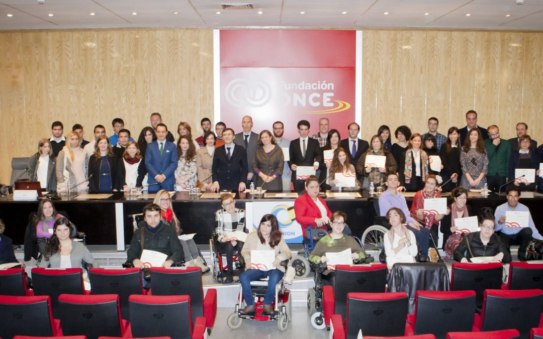 III edición del Programa de becas 'Oportunidad al Talento' de la Fundación ONCE
