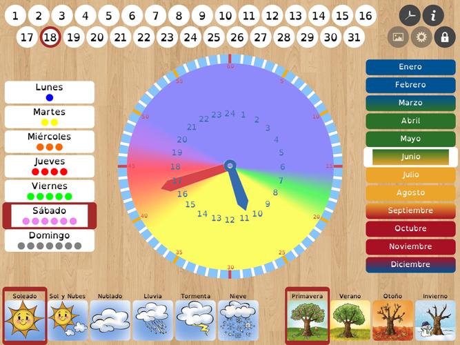 Niki Time, una app que nos ayuda a situarnos en el tiempo