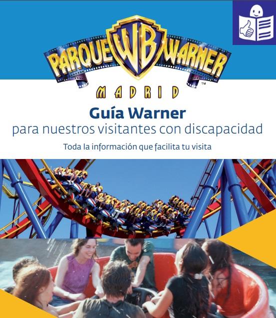 El Parque Warner Madrid edita una guía para visitantes en lectura fácil