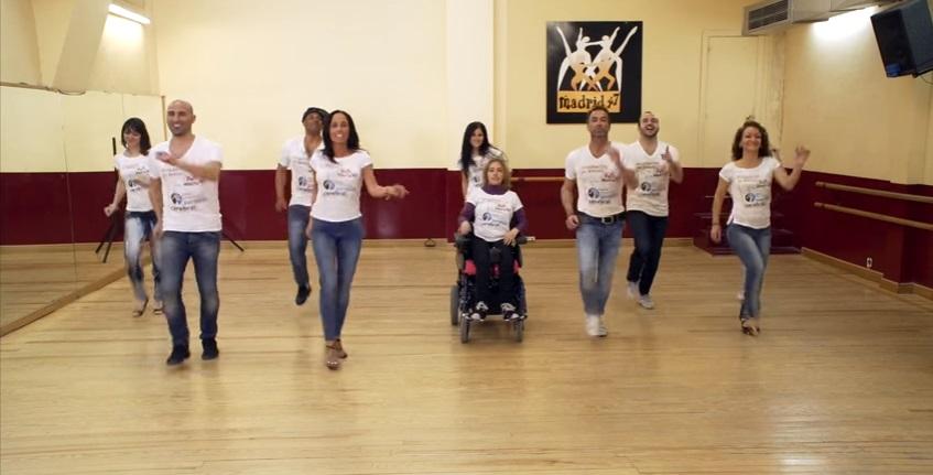 ASPACE Madrid organiza un flashmob con motivo del Día Mundial de la Parálisis Cerebral