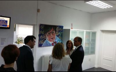 """La Exposición de pintura """"Escuchando el Silencio"""", presente en la inauguración del Curso de Formación inicial en TEA para centros preferentes con aulas TGD de Educación Secundaria"""