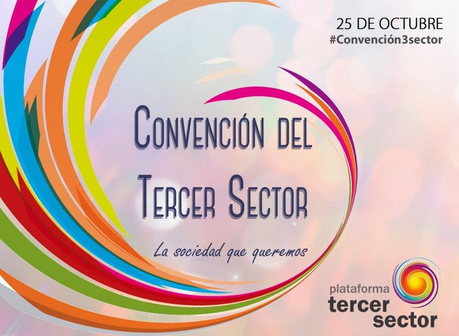 El próximo 25 de octubre se celebra la I Convención del Tercer Sector en España