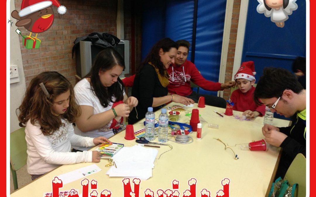 AFANYA TGD, celebró un taller navideño