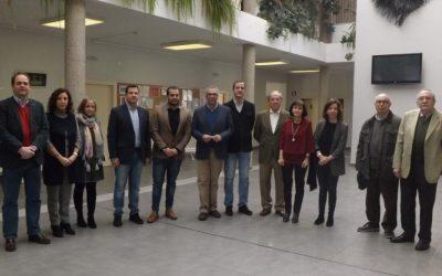 Visita del Consejero de Politicas Sociales a la Asociación Nuevo Horizonte