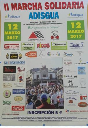 Marcha Solidaria a favor de ADISGUA