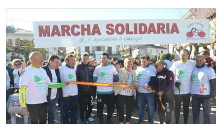 Todo un éxito de la II Marcha Solidaria a favor de ADISGUA