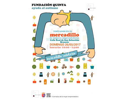 La Fundación Quinta participa en el mercadillo solidario