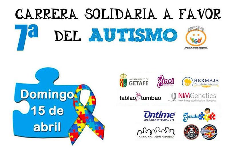 7ª Carrera a favor del Autismo organizada por Afanya