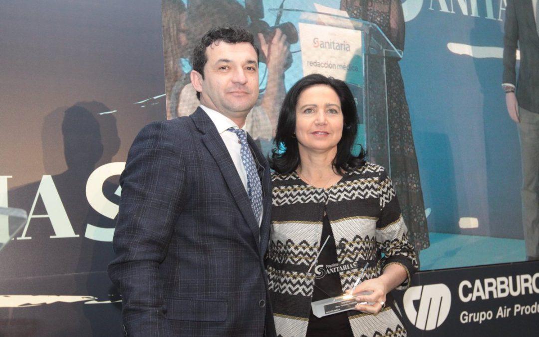 Mara Parellada recibe el Premio Sanitarias de Medicina