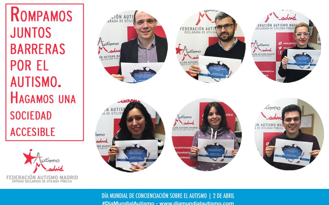 Federación Autismo Madrid se suma a la campaña por el DMCA 2018