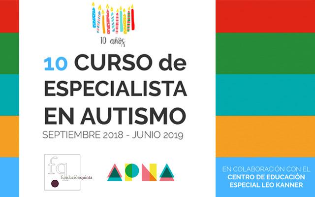 Curso de formación de Especialista en Autismo de Fundación Quinta y CEE Leo Kanner