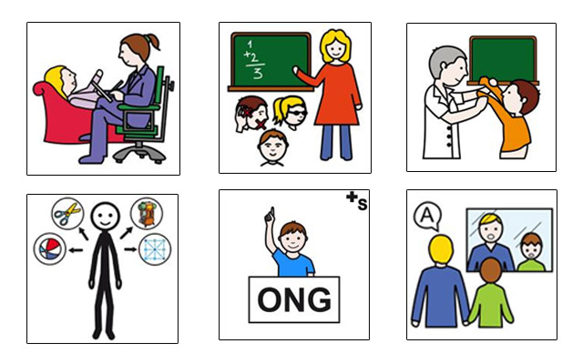 Profesiones en el ámbito de los Trastornos del Espectro del Autismo