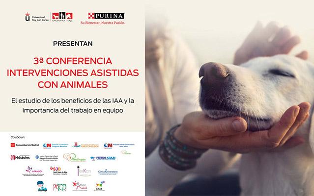 Autismo Madrid en la 3ª Conferencia de Intervenciones Asistidas con Animales