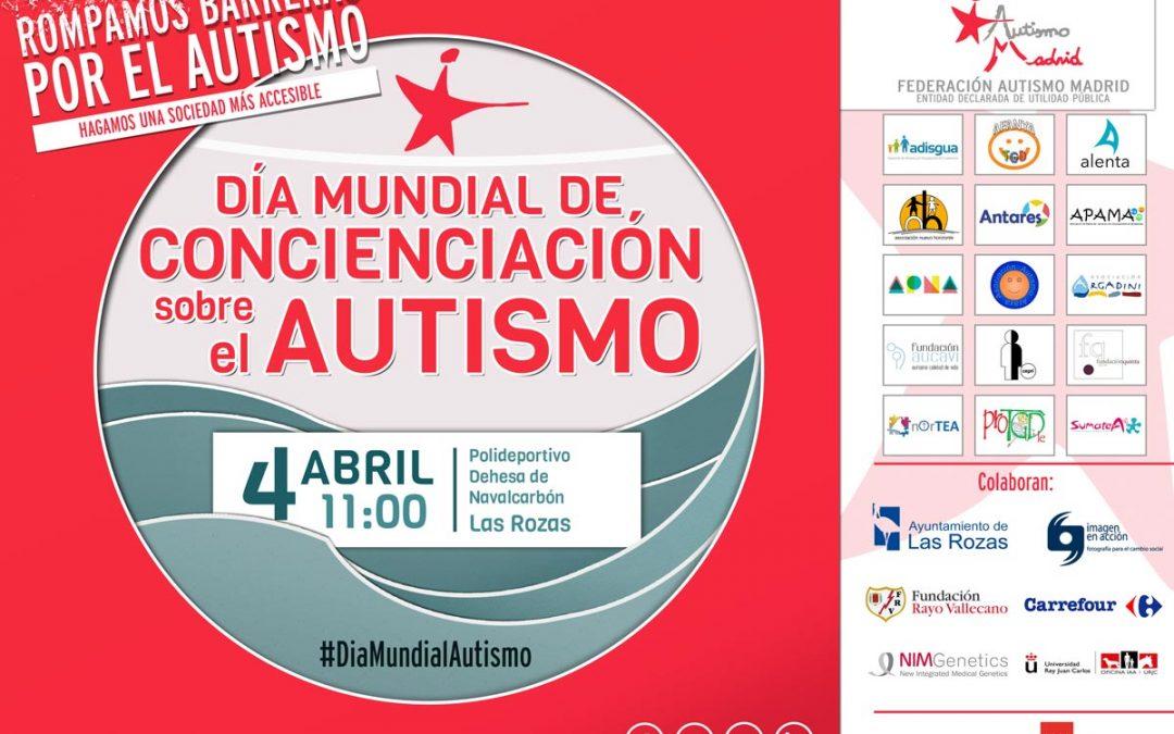 El 4 de abril Federación Autismo Madrid celebra el Día Mundial de Concienciación sobre el Autismo