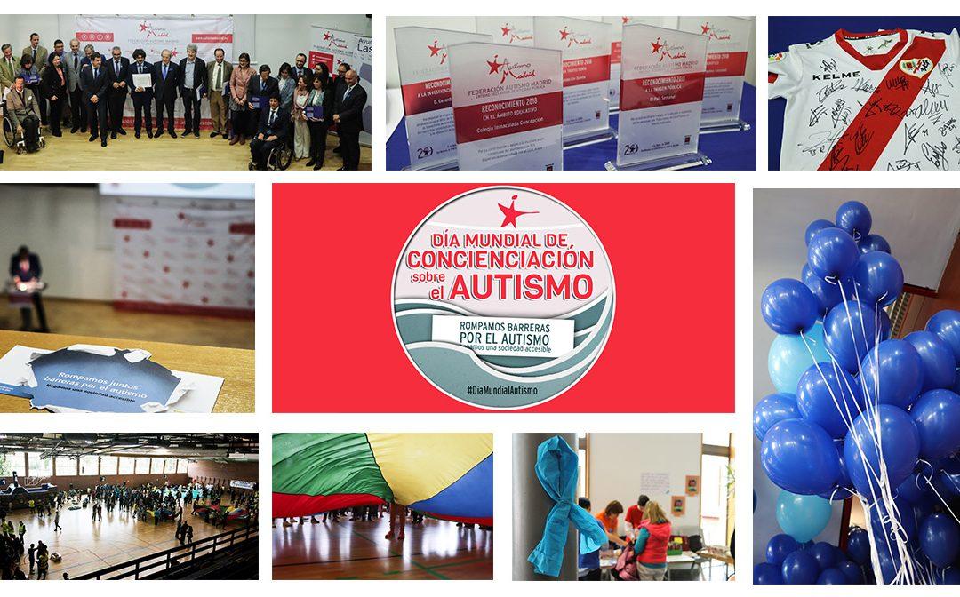 500 personas celebran el Día Mundial de Concienciación sobre el Autismo con Autismo Madrid