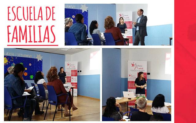Primer taller de la Escuela de Familias de Autismo Madrid