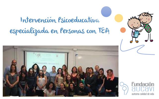 Autismo Madrid en el Curso de Intervención de Aucavi