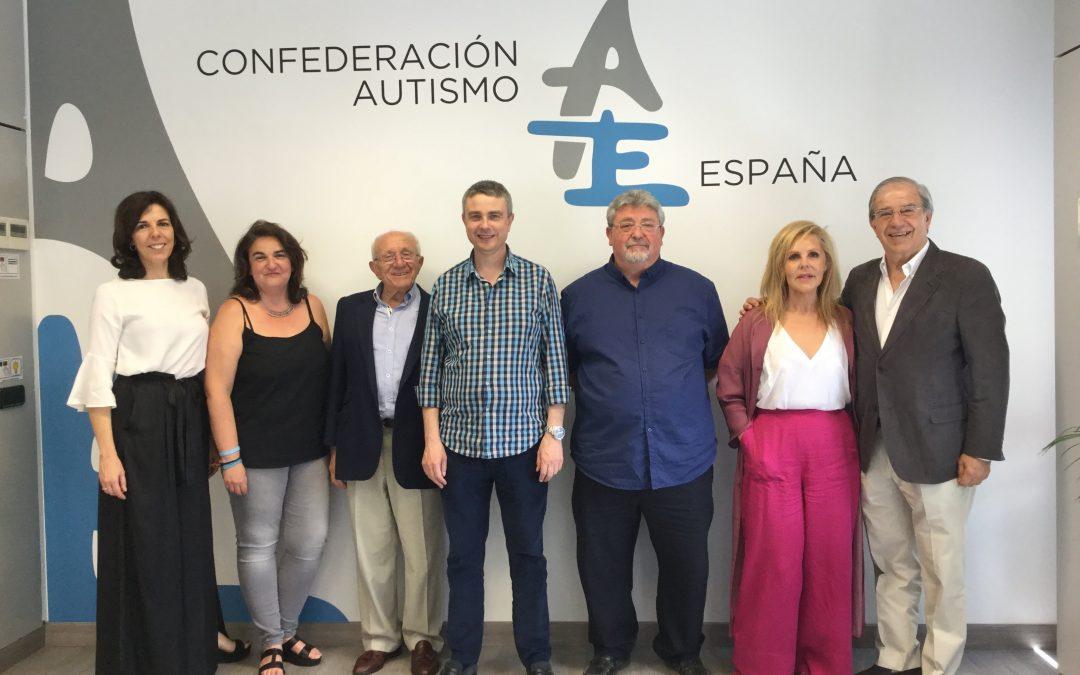 Autismo España renueva su junta directiva