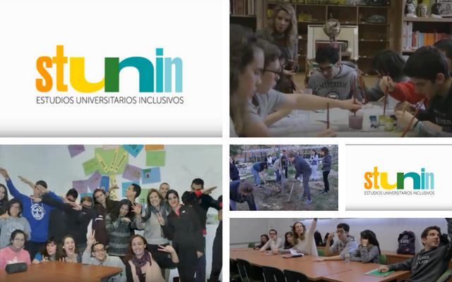 Clausura y diplomas a los alumnos de STUNIN, Estudios Universitarios Inclusivos