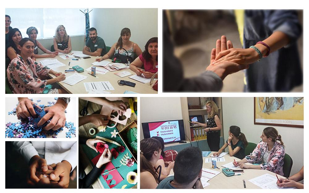Formación de voluntariado en la Federación Autismo Madrid
