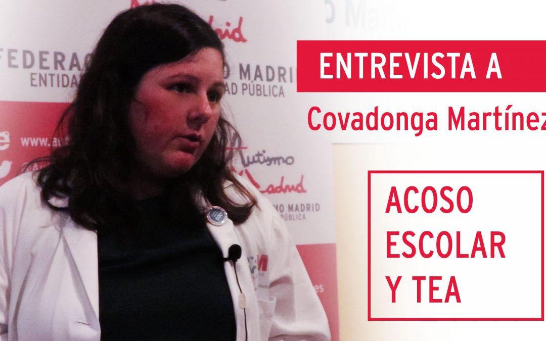 Acoso escolar y TEA: Entrevista con la doctora Covadonga Martínez.
